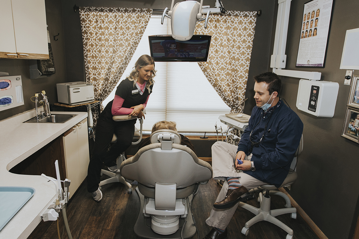 Martin Dental Eau Claire Treatment Room